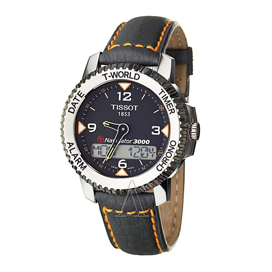 Relógio Tissot T-Touch Navigator 3000 - T96147832  - Dumont Online - Joias e Relógios