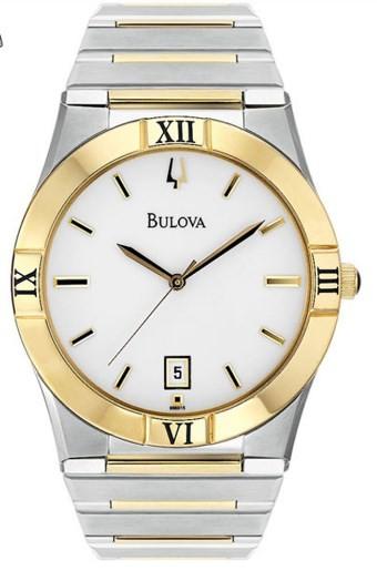 Relógio Bulova Masculino - WB21267B  - Dumont Online - Joias e Relógios