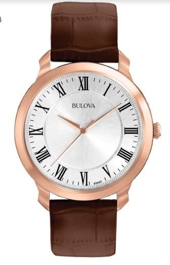 Relógio Bulova Masculino - WB21918S  - Dumont Online - Joias e Relógios