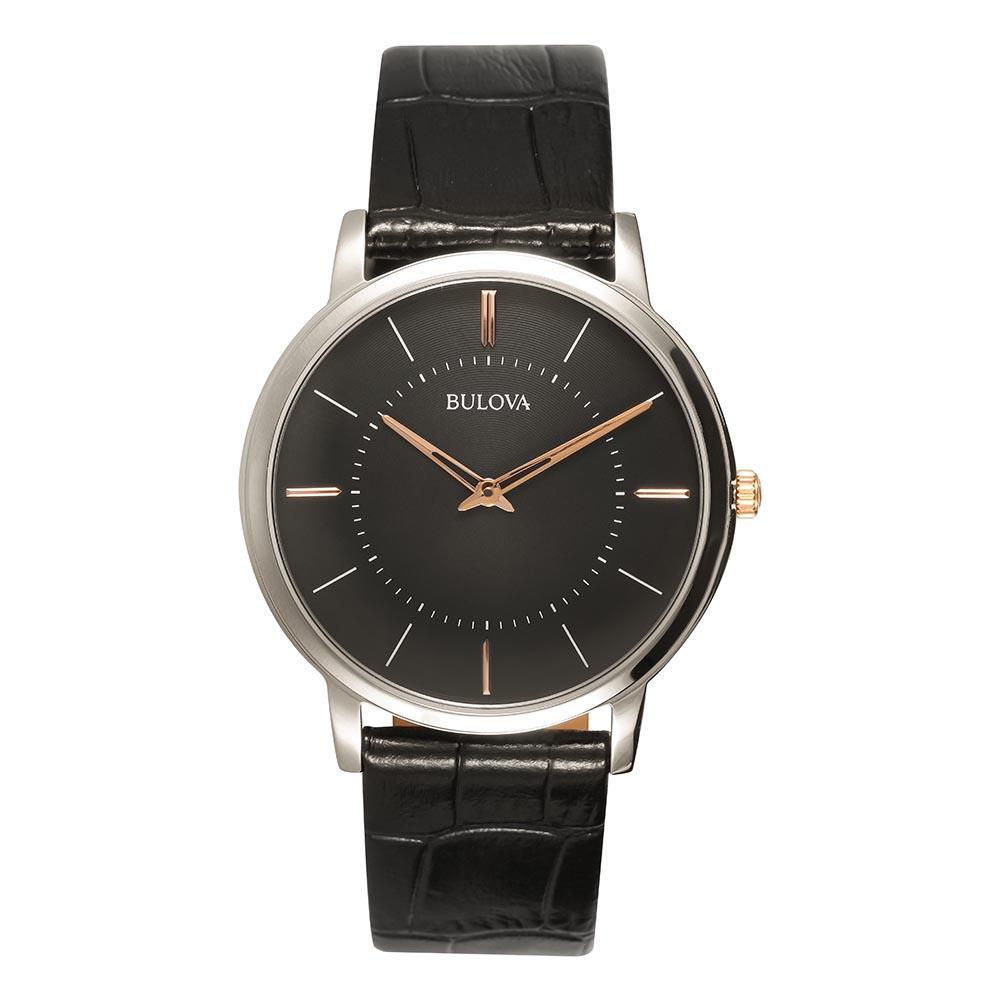Relógio Masculino Analógico Bulova Slim - WB22436T  - Dumont Online - Joias e Relógios