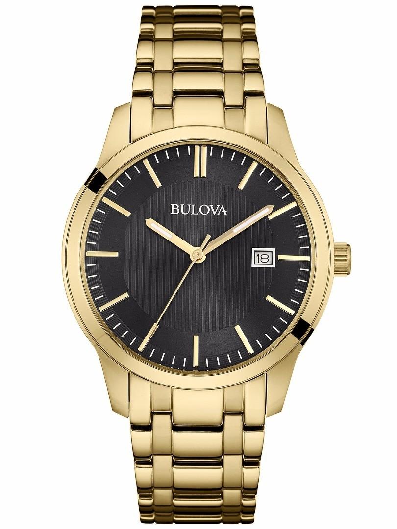 Relógio Bulova Masculino Dourado - WB22444U  - Dumont Online - Joias e Relógios
