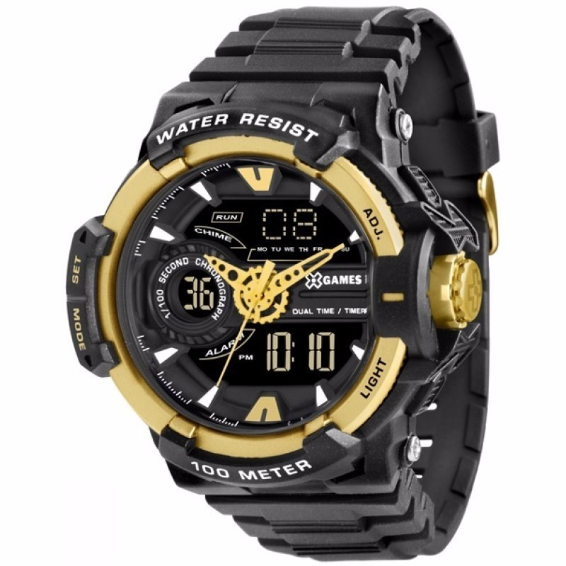 Relógio X-Games Masculino - XMPPA164 PXPX  - Dumont Online - Joias e Relógios