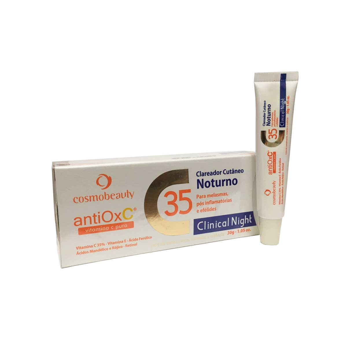 Clareador Noturno Cutâneo 30% Vitamina C - AntiOx C - 30g