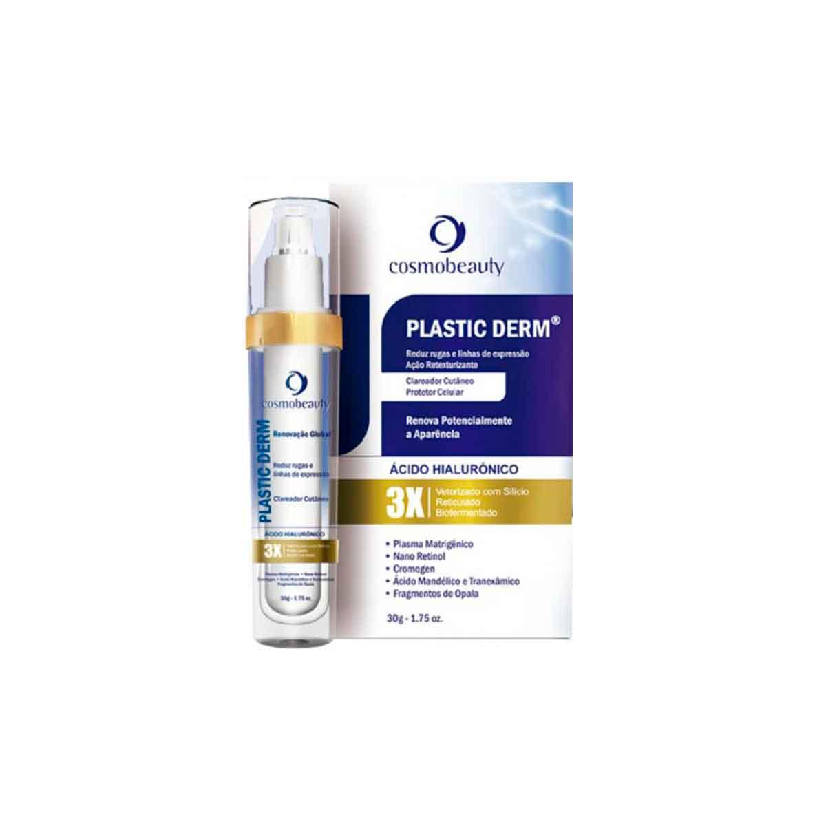Creme Antienvelhecimento Plastic Derm -  30g