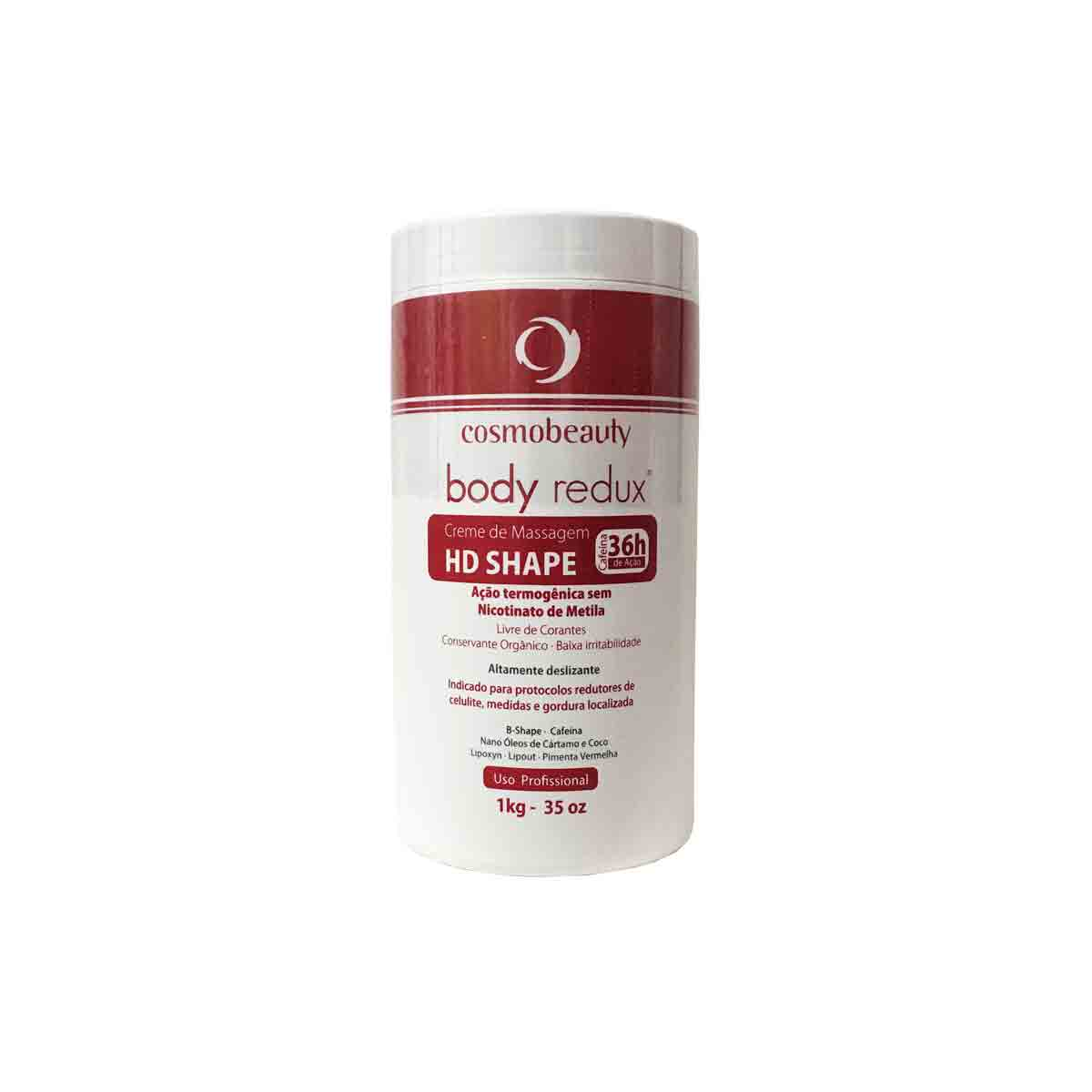 Creme de Massagem Body Redux HD Shape 1kg