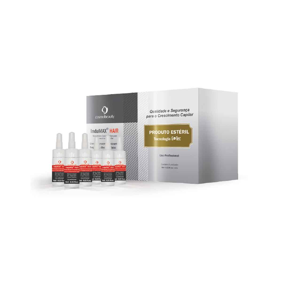 Monodoses Estéreis InduMax Hair - 4ml
