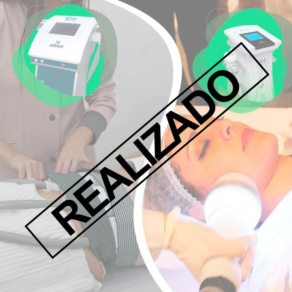 Super Treinamento do Protocolo Crio de Placas + Criofrequência - 16/01