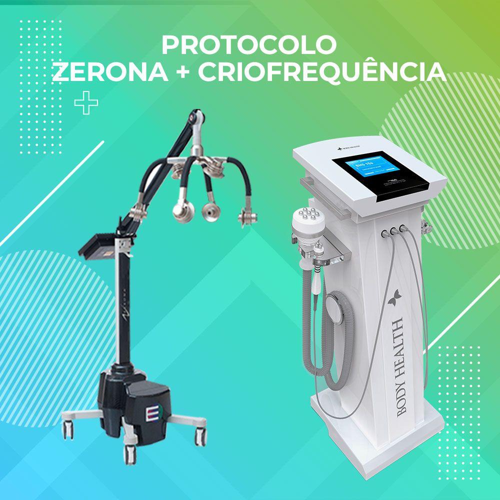 Super Treinamento Zerona + Criofrequência = GORDURA ZERO - 03/02