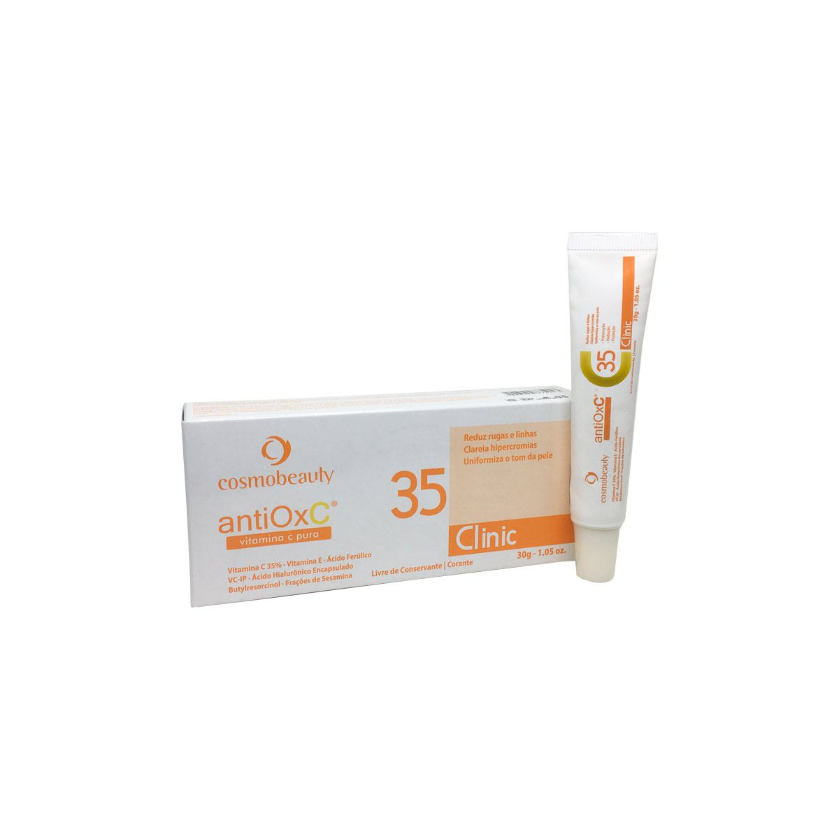 Vitamina C 35% Antiox C Clinic 30g