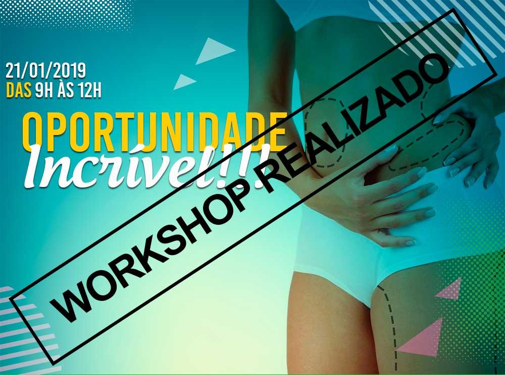Workshop: TERMOGÊNESE X TERMÓLISE - O poder da Radiofrequência Criogênica da KLD - 21/01/2019