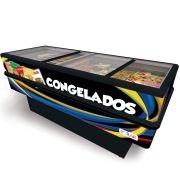 ILHA P/ CONGELADOS 2,00M ADESIVADA 220V POLAR