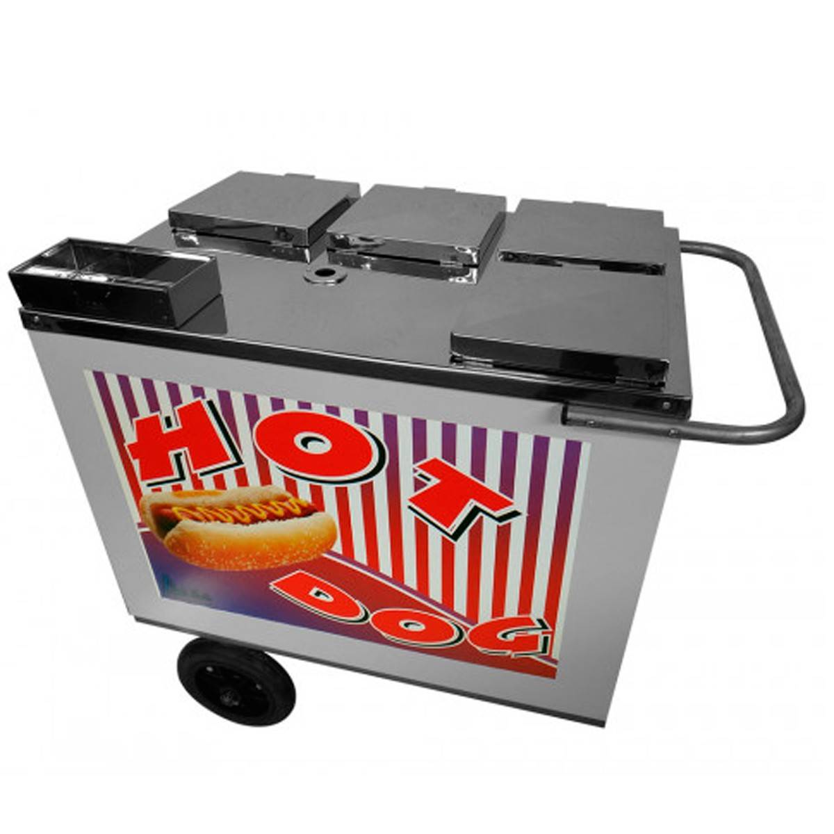 Carrinho para hot-dog simples Alsa