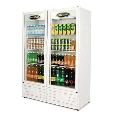 Expositor refrigerado vertical 2 portas (Visa Cooler) - Conservex