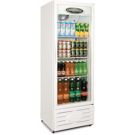 Expositor refrigerado vertical 400 litros (Visa Cooler) - Conservex