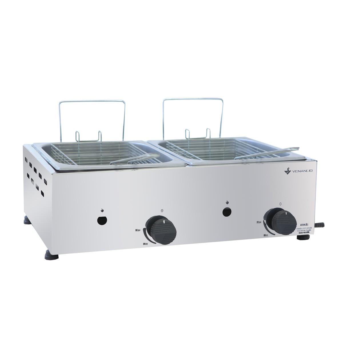 Fritadeira a gás oleo 2CB 1/2 SFG212 Venâncio