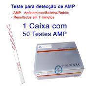 01 Caixa com 50 Testes AMP