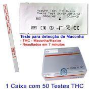 01 Caixa com 50 Testes THC