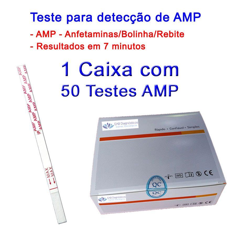 Caixa com 50 Testes AMP