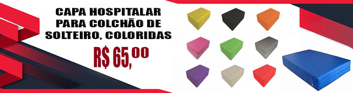 Capas para colchão de solteiro coloridas em promoção