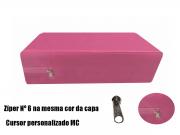 Capa Colchao Solteiro Hospitalar Impermeavel Medida Especial - Rosa Pink