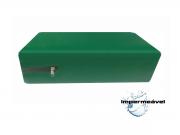 Capa Colchao Solteiro Hospitalar Impermeavel Medida Especial - Verde Bandeira