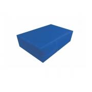 Capa de Casal para Colchão impermeável hospitalar Anti Alérgica Azul  em Promoção