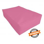 capa hospitalar  para colchão de casal na cor pink fechamento em zíper