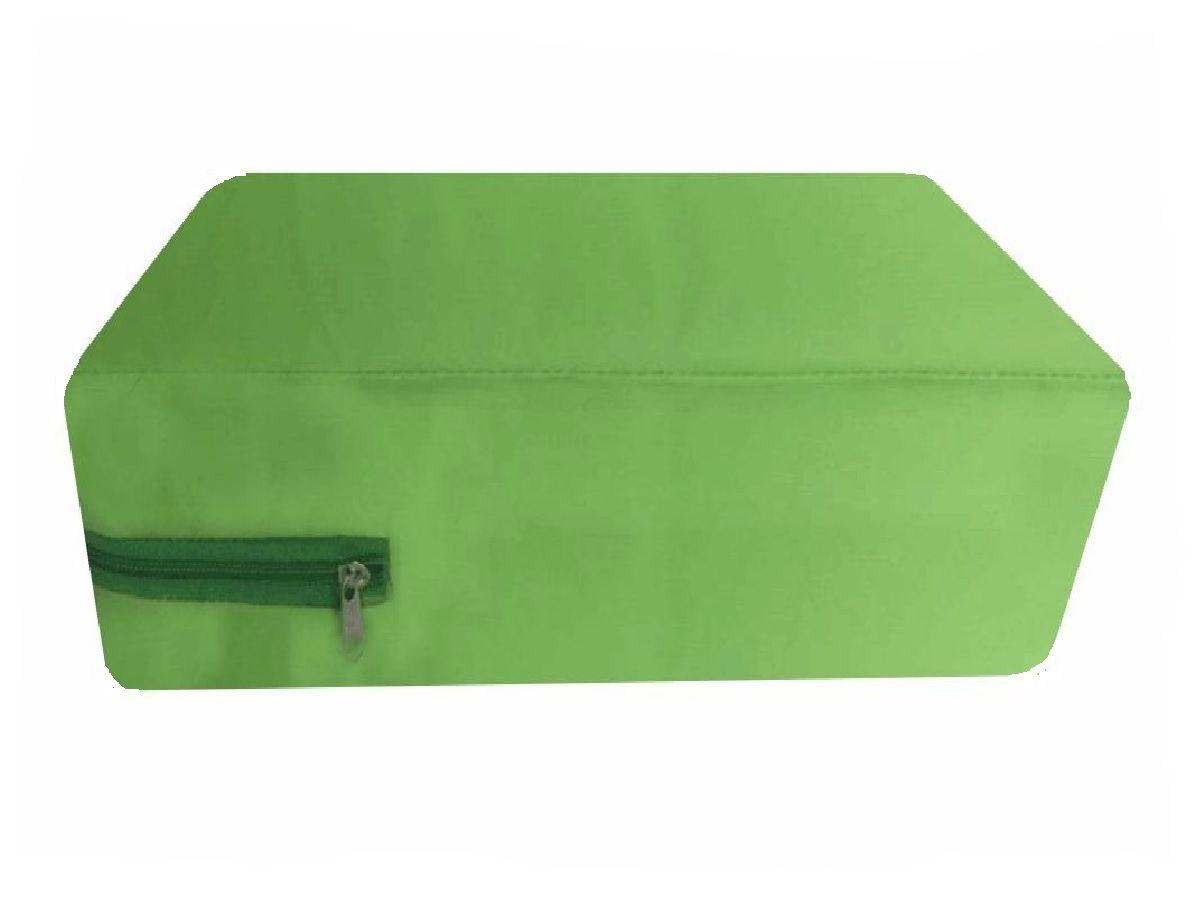 Capa Casal Queen Impermeável Colchão  cor Verde Citros a prova de água
