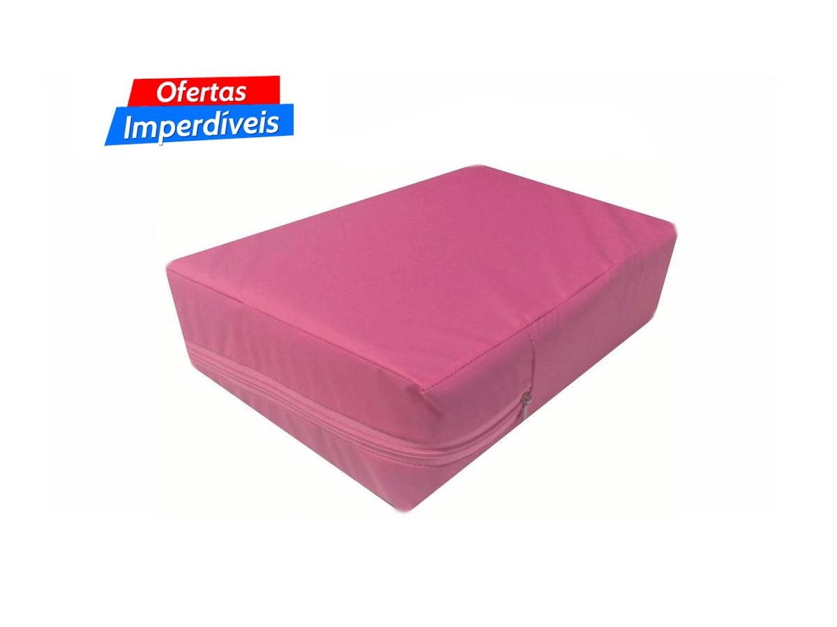 """Capa colchão Casal Queen a prova d""""água cor Pink  - CarroCasa"""