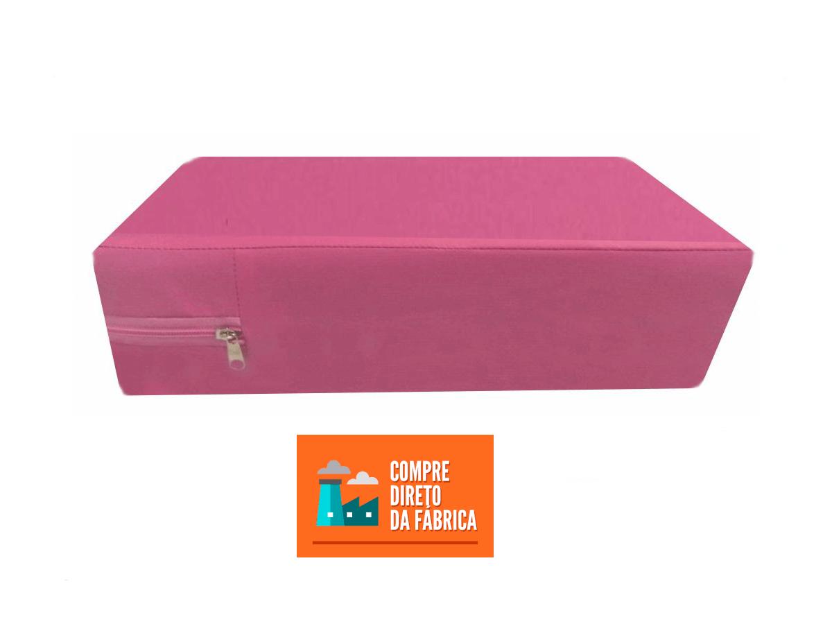 Capa Colchao Solteiro Hospitalar Impermeavel Medida Especial - Rosa Pink  - CarroCasa