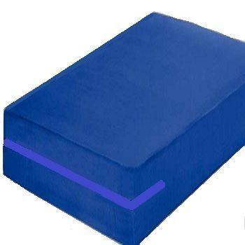 Capa hospitalar para colchão king-size Azul