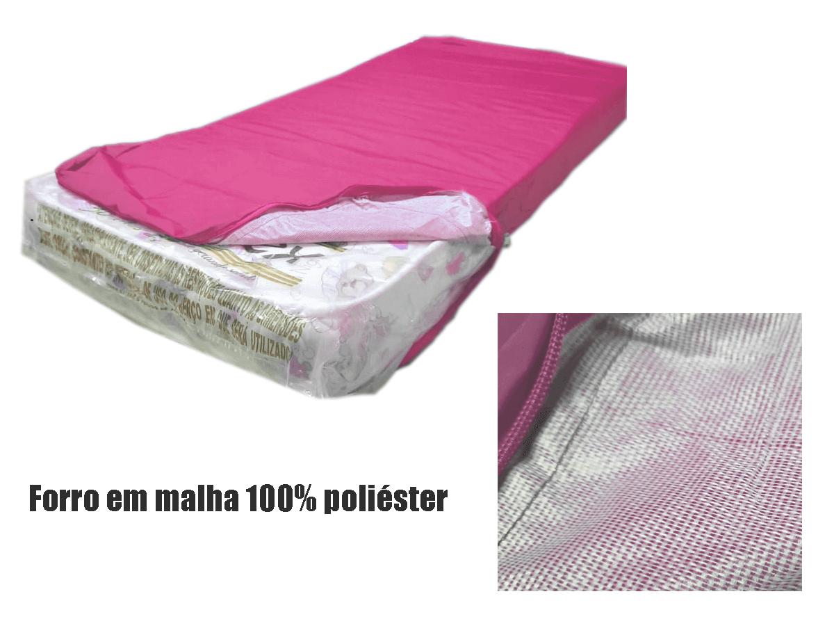 Capa Impermeável Solteiro Pink Hospitalar fabricamos em  Várias medidas  - CarroCasa