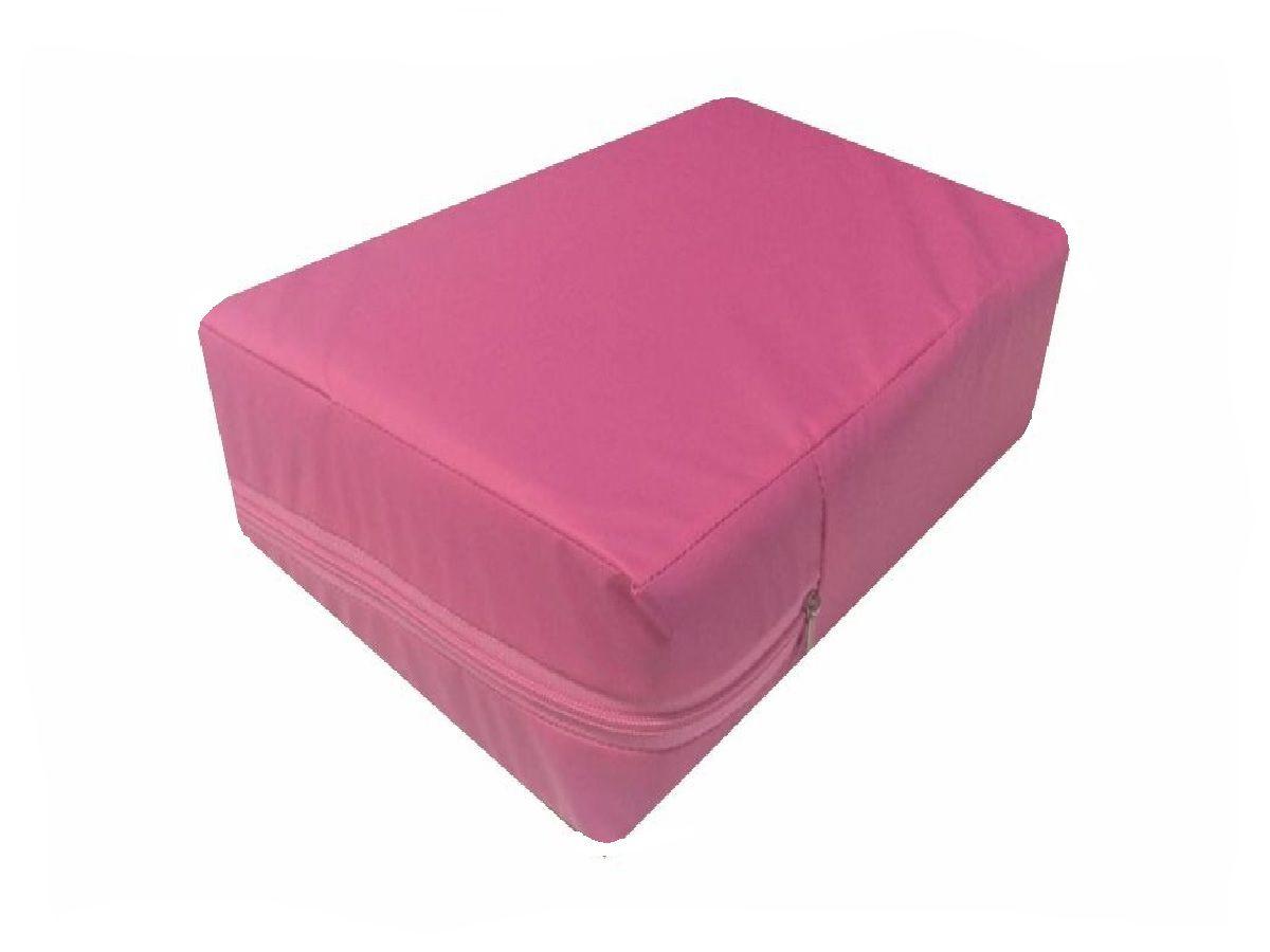 Capa Impermeável Solteiro Pink Hospitalar Várias medidas  - CarroCasa