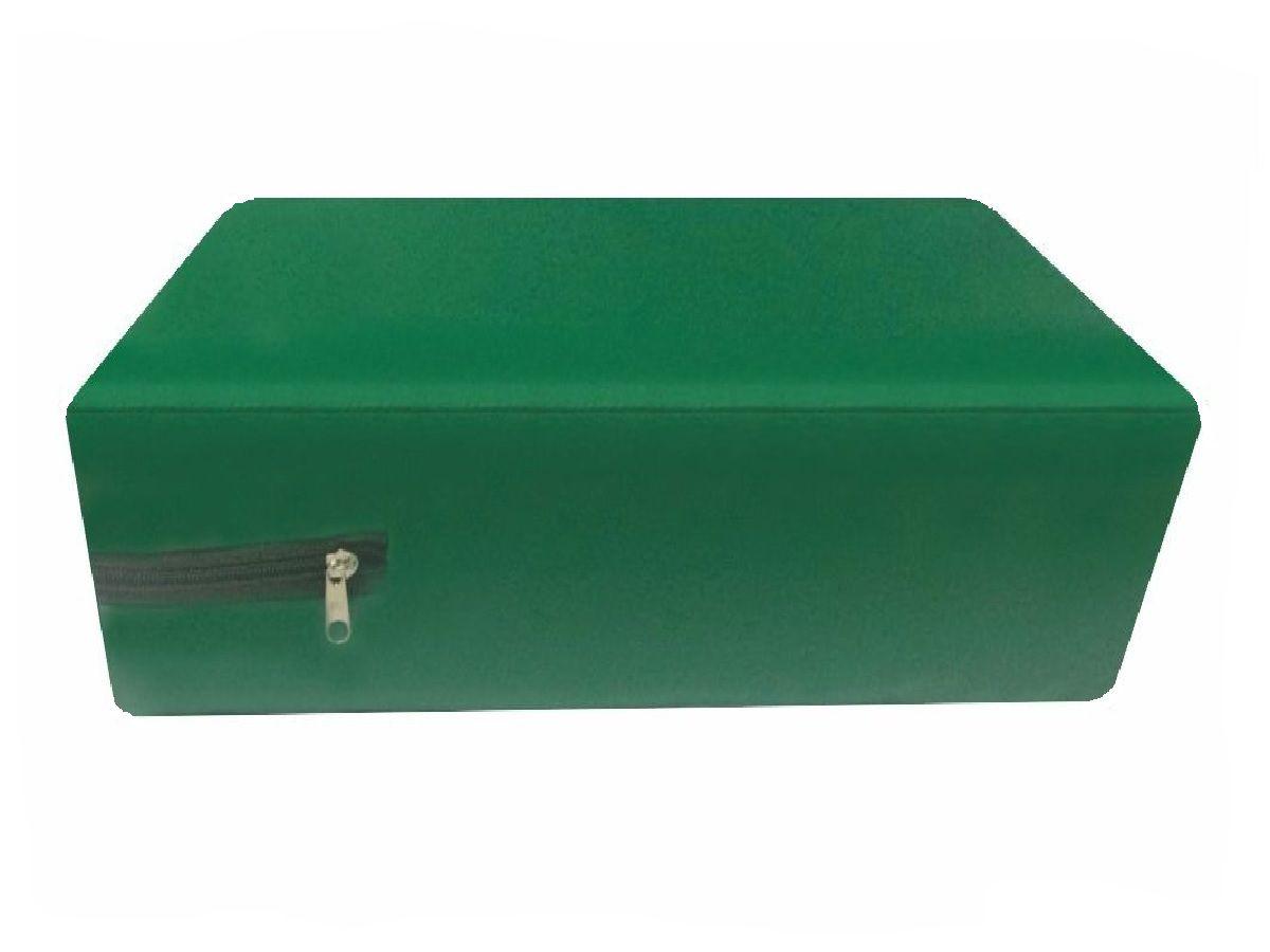 Capa Impermeável Solteiro Verde Bandeira Hospitalar Várias medidas  - CarroCasa