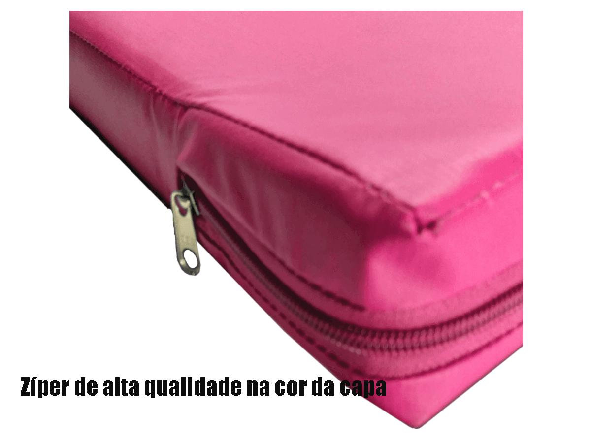 Capa Para Colchão Berço Mini Cama Impermeável Pink  - CarroCasa