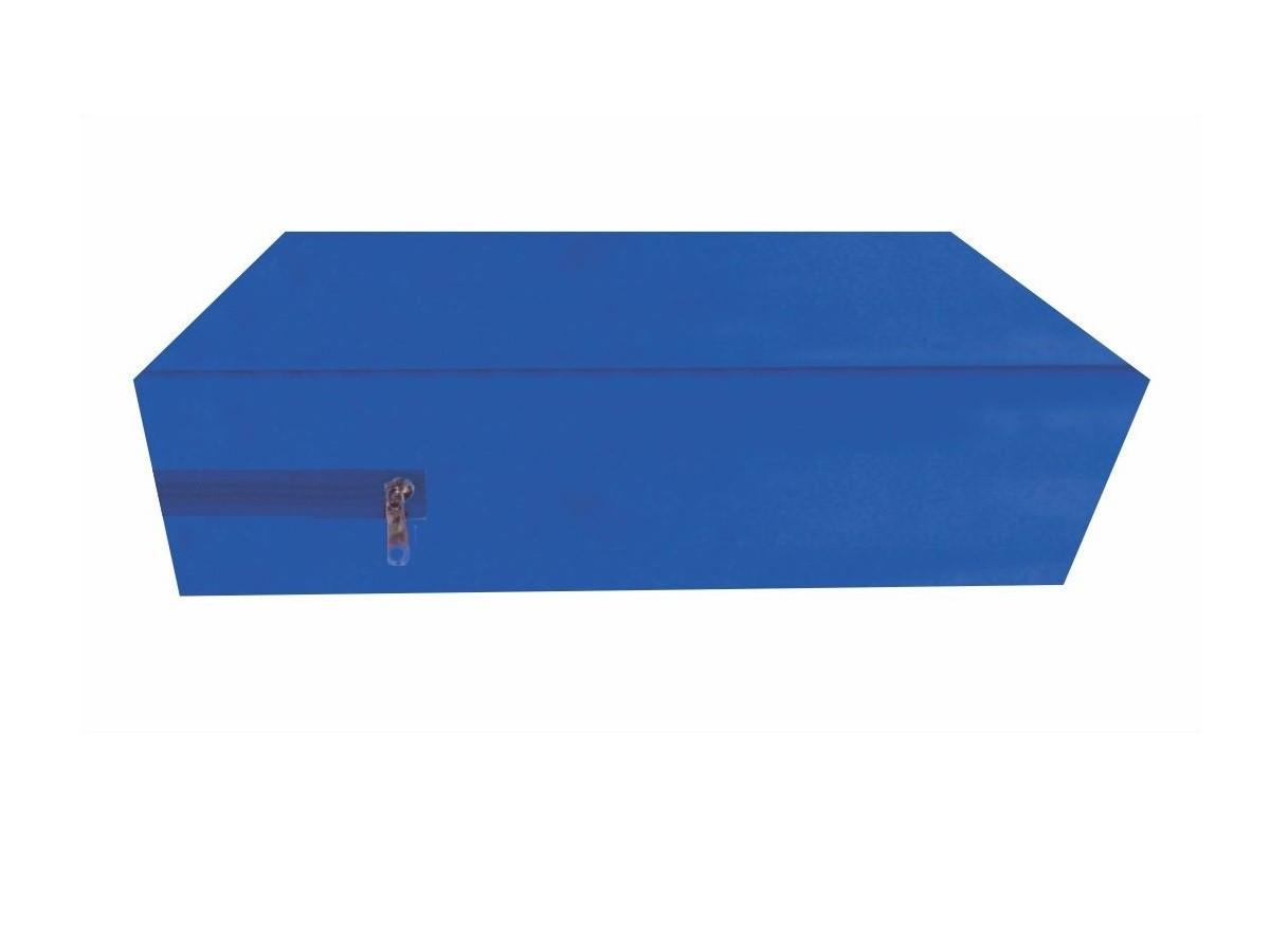 Capa Queen Impermeável P/ Colchão Azul Medida Especial  - CarroCasa
