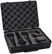 Kit De Microfone Para Voz Com 3 Unidades Com Chave E Maleta Para Transporte - Dm800Kit - Proel