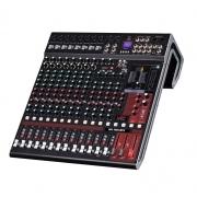 Mesa De Som Analógica 16 Canais Com Multiefeitos Conexão Bluetooth E USB - MA1604 Efx - Arko Audio