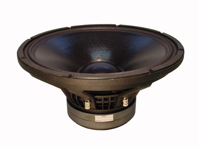 """Alto-Falante 15 Polegadas Ferrite - Woofer - 3"""" Vc, 600 W, 98 dB - 15S330 - BMS"""