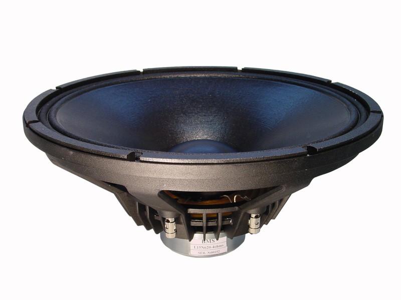 """Alto-Falante 15 Polegadas Neodímio - Lowmid - 3"""" Vc, 500 W, 98 dB - 15N620 - BMS"""