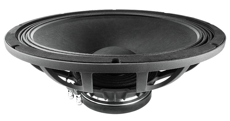 Alto-Falante 18 Polegadas Ferrite - Freq. 30 ÷ 2500 Hz - 600W Aes/98 dB - 18Fh510 - Faital Pro
