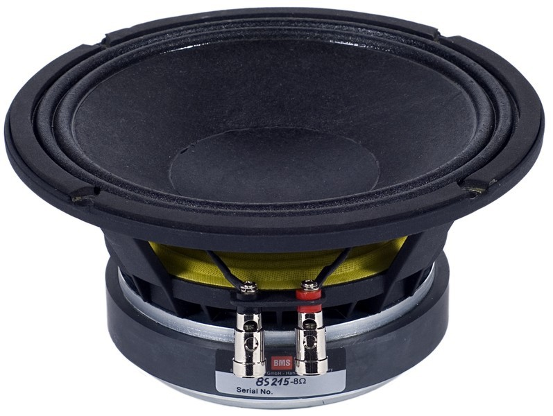 "Alto-Falante 8 Polegadas Ferrite - Lowmid - 2"" Vc, 200 W, 96 dB - 8S215 - BMS"