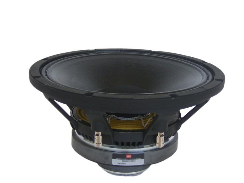 "Alto-Falante Coaxial 12 Polegadas - Ferrite - 3"" + 1,5"" Vc, 400W + 60W, 98 dB - 12C262 - BMS - 8 Ohm"
