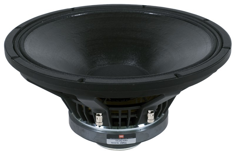 "Alto-Falante Coaxial 15 Polegadas - Ferrite - 3"" + 1,5"" Vc, 400W + 60W, 98 dB - 15C262 - BMS - 8 Ohm"
