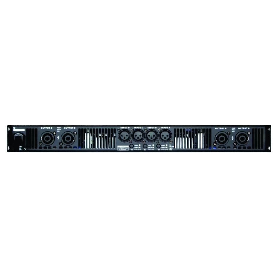 """Amplificador Digital C/ DSP - 4 Canais (4x 650W @8 Ohm) - Padrão Rack 19"""" - AD4650 DSP - Arko Audio"""