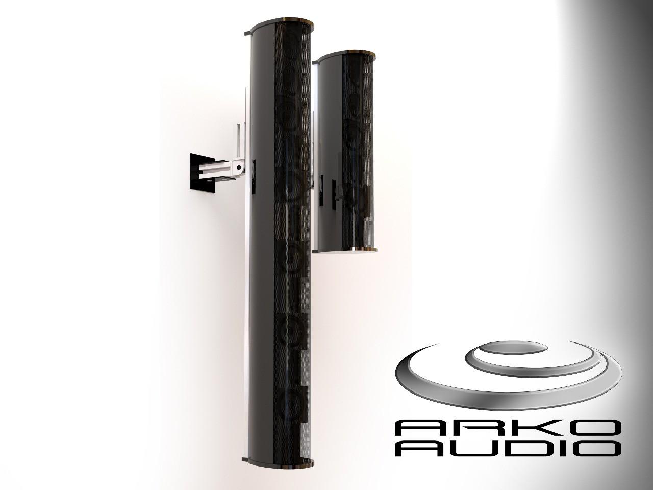 "Caixa Coluna Vertical Line Array Passiva 800Watts - 12x3"" Polegadas - Vla1203P - Arko Audio"
