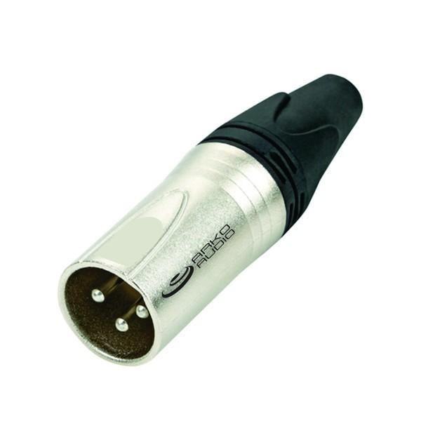 Conector Xlr Macho De Linha 3 Pinos - Xlr3Ml - Arko Audio