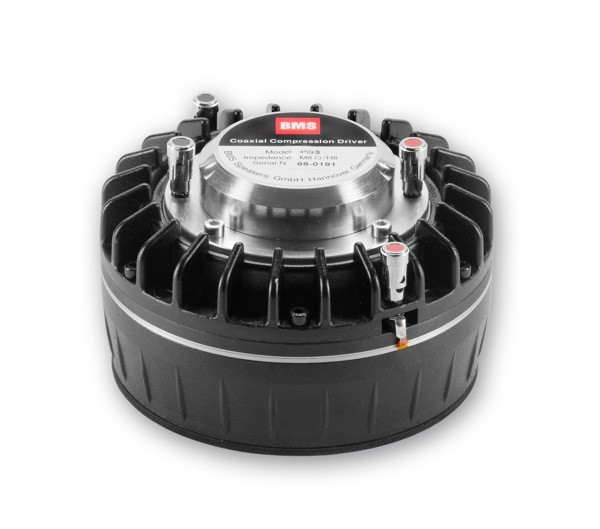 "Driver Coaxial 1.4 Polegadas Neodímio - 3,5"" + 1,75"" Vc; 150W + 80W Aes, 118 dB - 4593Nd - Bms"