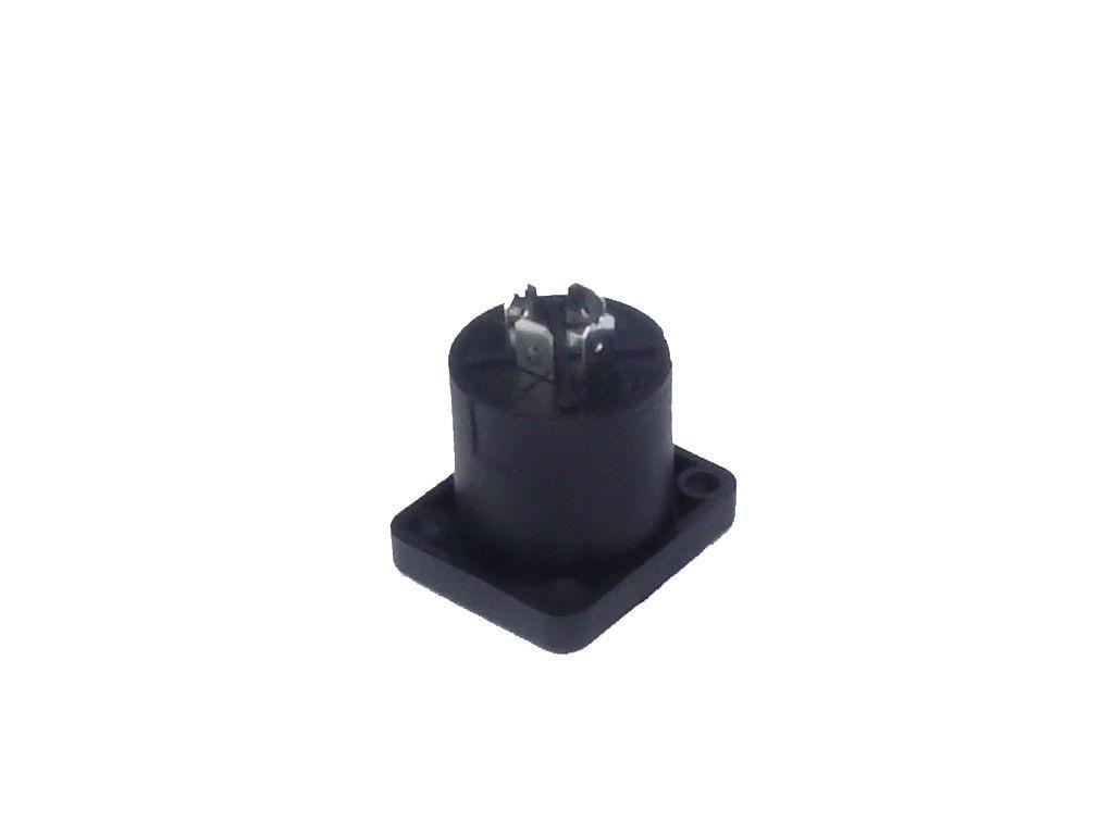 Kit Conector Speakon 4 Polos Linha e Painel Quad. Com 12 Unidades - K12SPK4LPQ - Arko Audio
