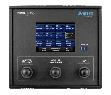 Personal Monitor 24 Canais De Uso Individual - Cs-Solo - Livemix